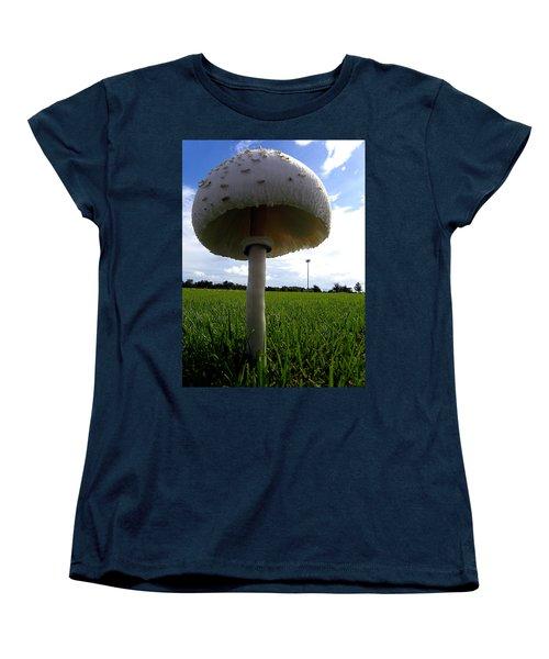 Mushroom 005 Women's T-Shirt (Standard Cut) by Chris Mercer