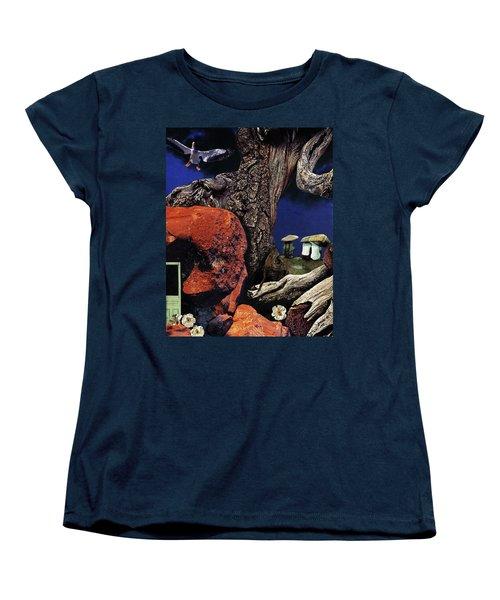 Mushroom People - Collage Women's T-Shirt (Standard Cut)