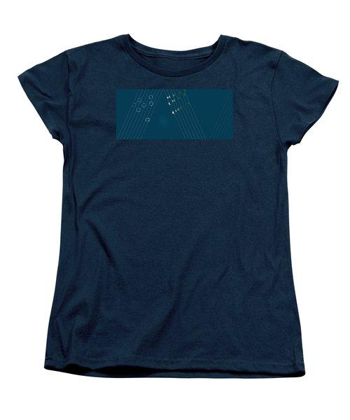 Music Hall Women's T-Shirt (Standard Cut) by Kevin McLaughlin