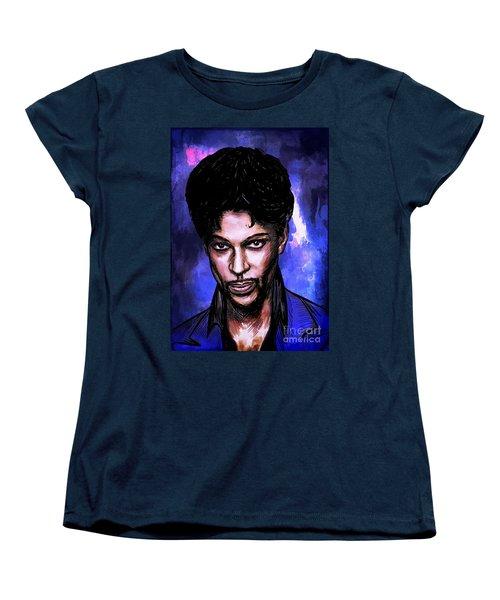 Music Legend  Prince Women's T-Shirt (Standard Cut) by Andrzej Szczerski