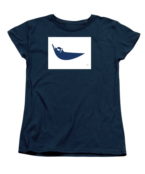 Women's T-Shirt (Standard Cut) featuring the digital art Music Notes 19 by David Bridburg