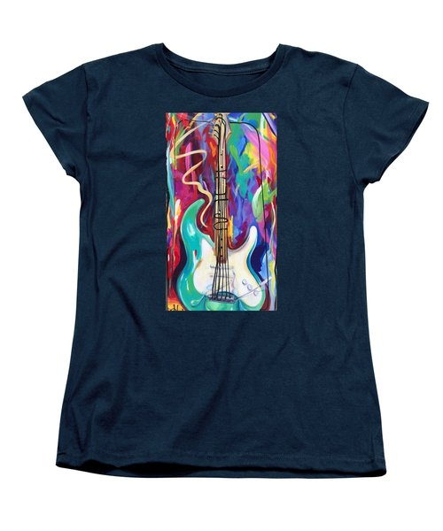 Musical Whimsy  Women's T-Shirt (Standard Cut) by Heather Roddy