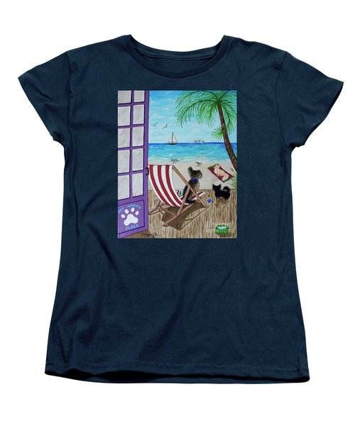 My 3 And The Sea Women's T-Shirt (Standard Fit)