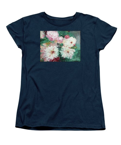 My Chrysanthemums Women's T-Shirt (Standard Cut) by Barbara Anna Knauf
