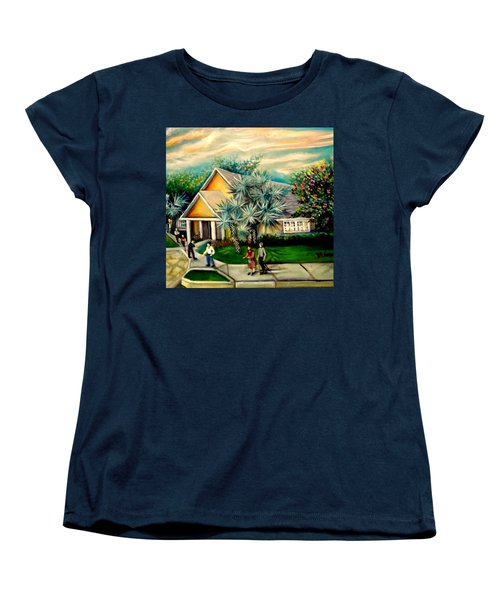 My Church Women's T-Shirt (Standard Cut) by Yolanda Rodriguez