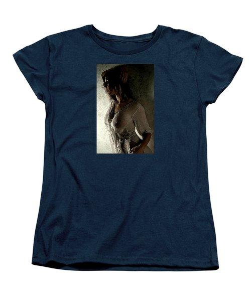 My Desire. Women's T-Shirt (Standard Cut) by Shlomo Zangilevitch