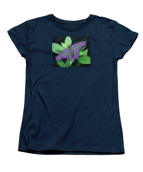 My Favorite Color Is Blue Women's T-Shirt (Standard Cut) by Richard Barone