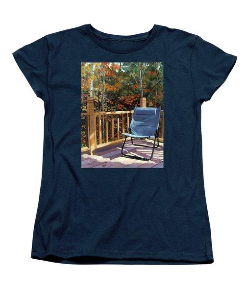 My Favorite Spot Women's T-Shirt (Standard Cut) by Lynne Reichhart