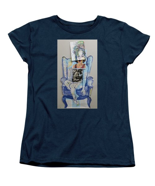 My Foot Is In Miami Women's T-Shirt (Standard Cut) by Tilly Strauss