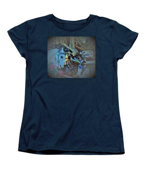 Women's T-Shirt (Standard Cut) featuring the photograph My Friends by John Glass