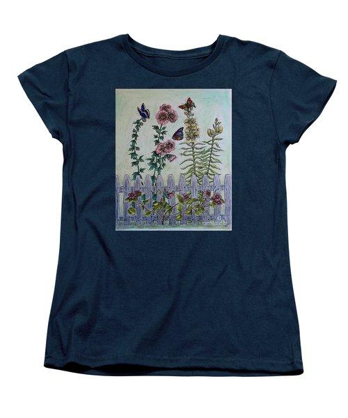 My Garden Women's T-Shirt (Standard Cut) by Kim Jones