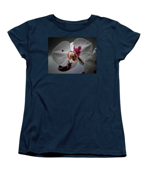 My Growling Dragon Orchid. Women's T-Shirt (Standard Cut) by Karen Stahlros