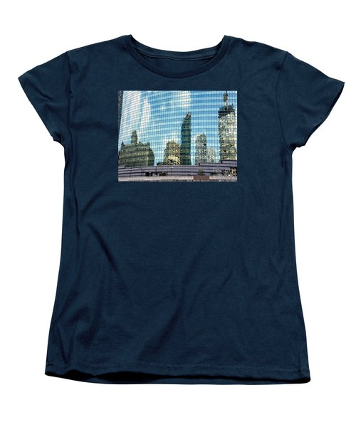 Women's T-Shirt (Standard Cut) featuring the photograph My Kind Of Town by Sandy Molinaro