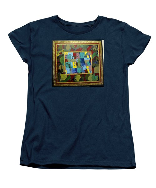 My Little Town Women's T-Shirt (Standard Cut) by Bernard Goodman