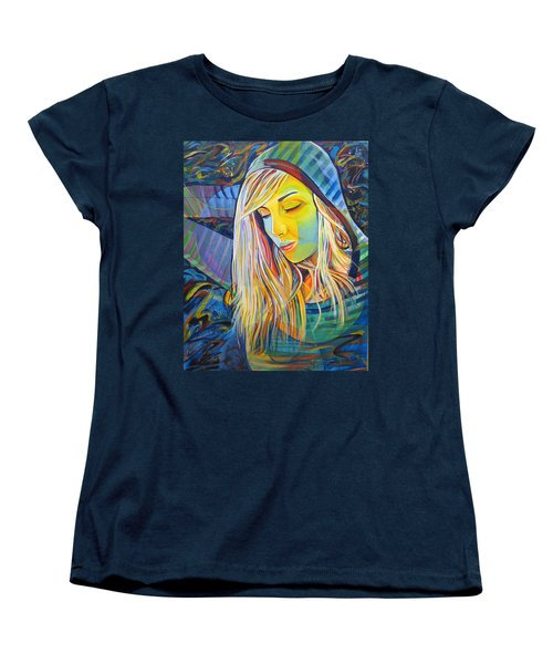 Women's T-Shirt (Standard Cut) featuring the painting My Love by Joshua Morton