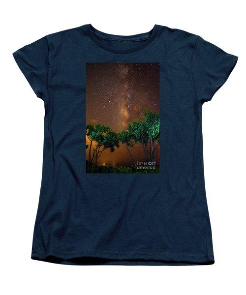 My Milky Way Women's T-Shirt (Standard Cut) by Quinn Sedam