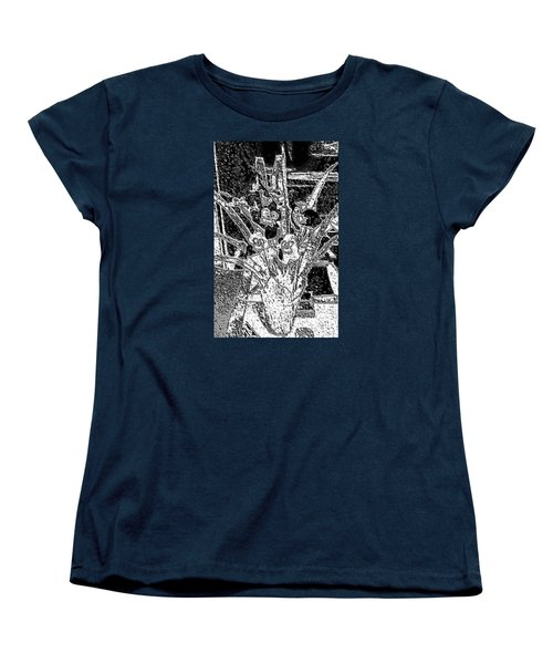My Orchids Women's T-Shirt (Standard Cut) by Vickie G Buccini