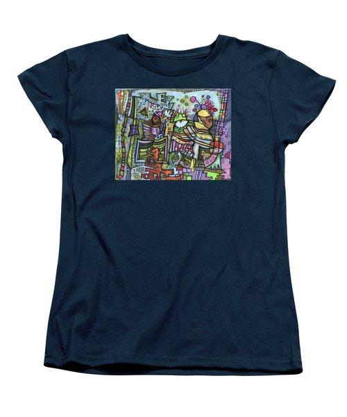My Party Women's T-Shirt (Standard Cut) by Sandra Church