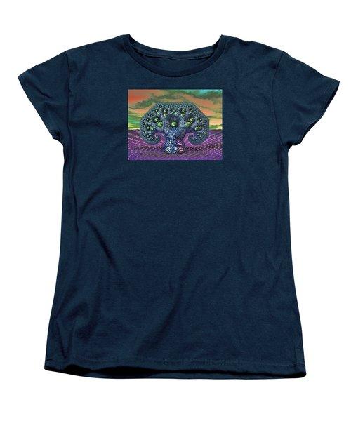 My Pythagoras Tree Women's T-Shirt (Standard Cut) by Manny Lorenzo