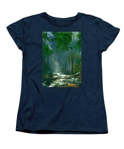 My Secret Place II Women's T-Shirt (Standard Cut) by Michael Swanson