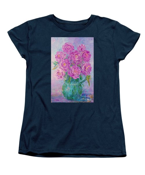 My Summer Roses Women's T-Shirt (Standard Cut)