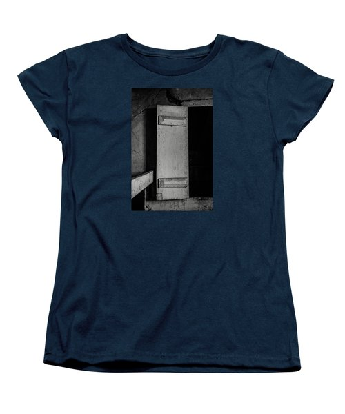 Mysterious Attic Door  Women's T-Shirt (Standard Cut) by Off The Beaten Path Photography - Andrew Alexander