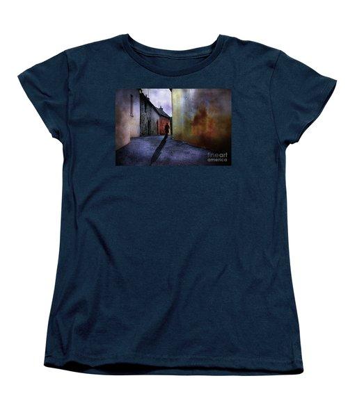 Mystery Corner Women's T-Shirt (Standard Cut) by Jim  Hatch