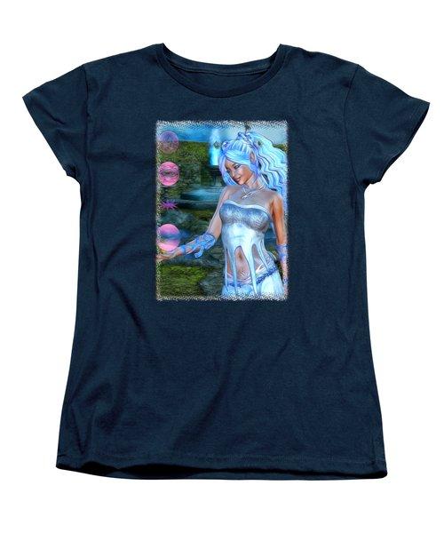 Mysticals Lake Women's T-Shirt (Standard Cut) by Sharon and Renee Lozen