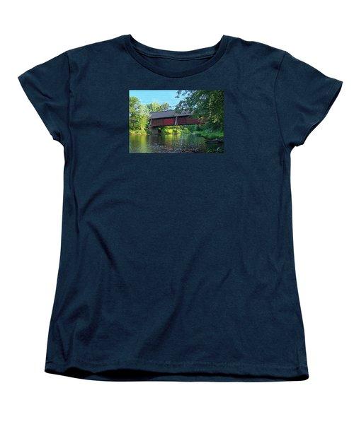 N. Troy Bridge Women's T-Shirt (Standard Cut) by John Selmer Sr