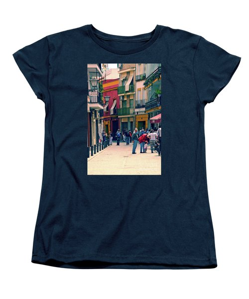 Women's T-Shirt (Standard Cut) featuring the photograph Triana On A Sunday Afternoon 1 by Mary Machare