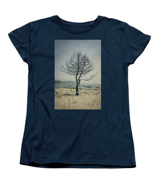 Women's T-Shirt (Standard Cut) featuring the photograph Naked Tree by Marco Oliveira
