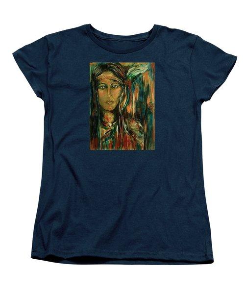 Nancy Ward Beloved Woman Nanye Women's T-Shirt (Standard Cut) by Dawn Fisher