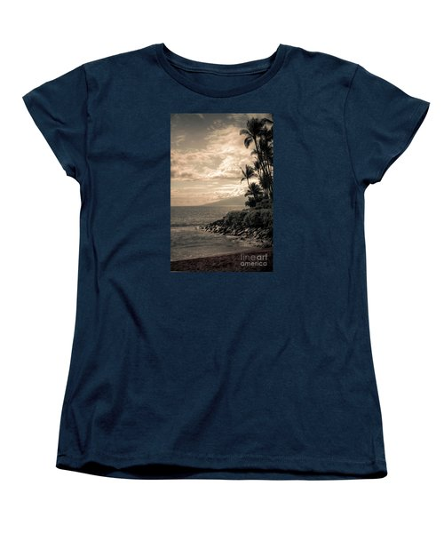 Women's T-Shirt (Standard Cut) featuring the photograph Napili Heaven by Kelly Wade