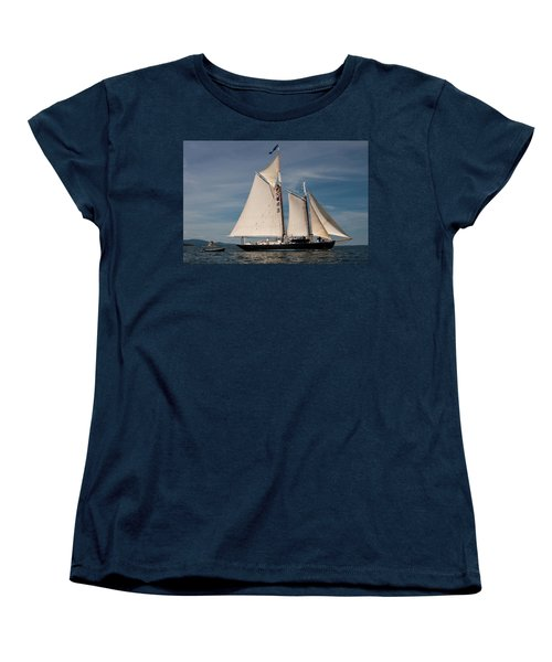 Nathaniel Bowditch 1 Women's T-Shirt (Standard Cut) by Brent L Ander