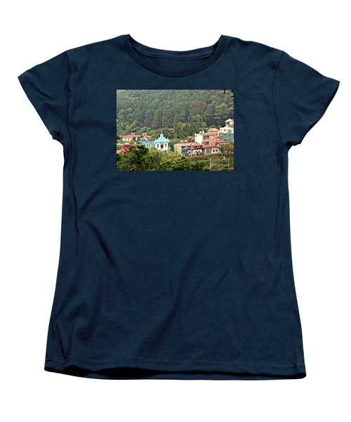 Women's T-Shirt (Standard Cut) featuring the photograph Native Village In Taiwan by Yali Shi