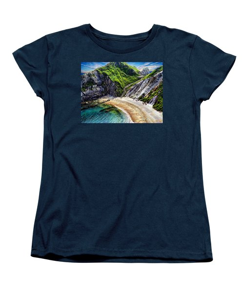 Natural Cove Women's T-Shirt (Standard Cut) by Anthony Dezenzio