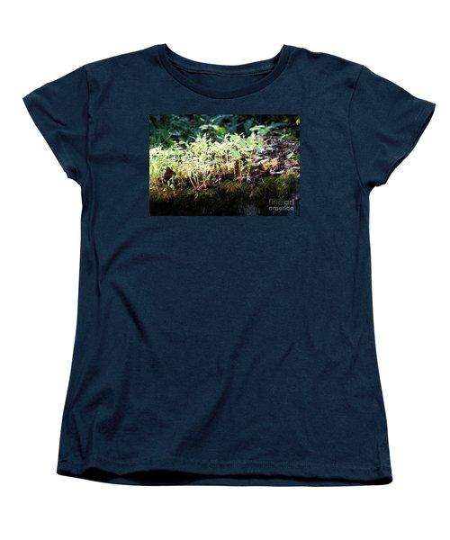 Nature Finds A Way Women's T-Shirt (Standard Cut) by Rebecca Davis