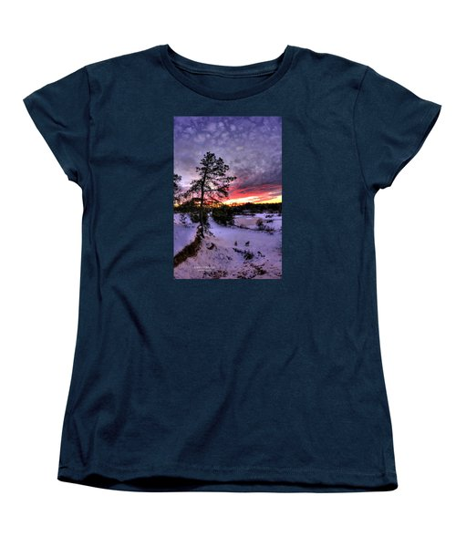 Nature Reserve Snowset Women's T-Shirt (Standard Cut) by John Loreaux