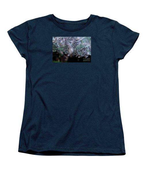Nature's Lace Women's T-Shirt (Standard Cut) by Rebecca Davis