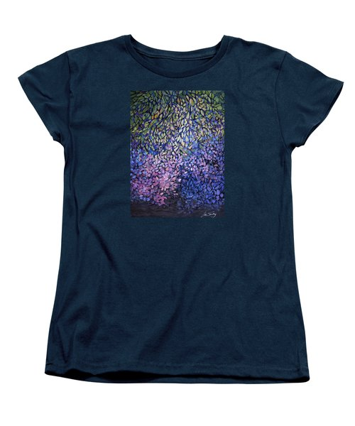 Natures Stain Glass Symphony Women's T-Shirt (Standard Cut) by Joanne Smoley