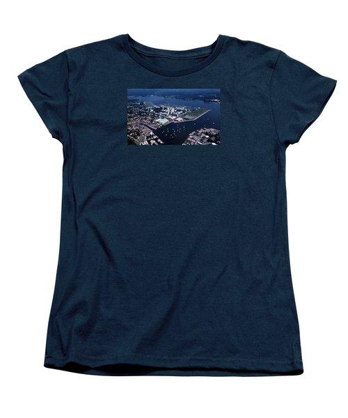 Naval Academy Women's T-Shirt (Standard Cut) by Skip Willits