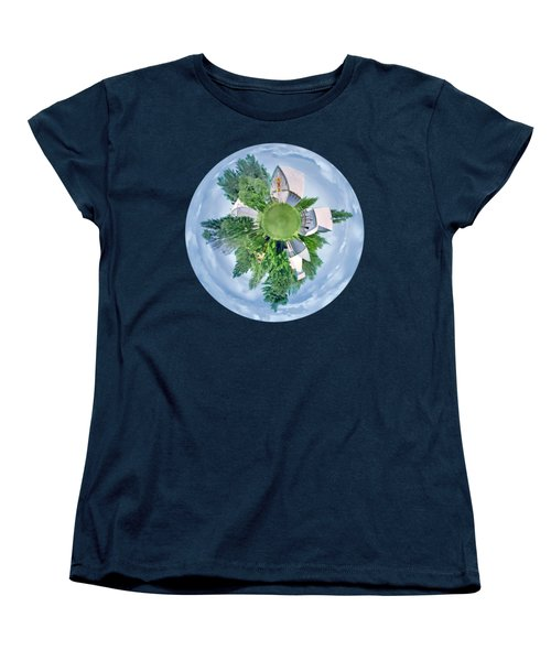 Women's T-Shirt (Standard Cut) featuring the photograph Nebraska Farm - Transparent by Nikolyn McDonald