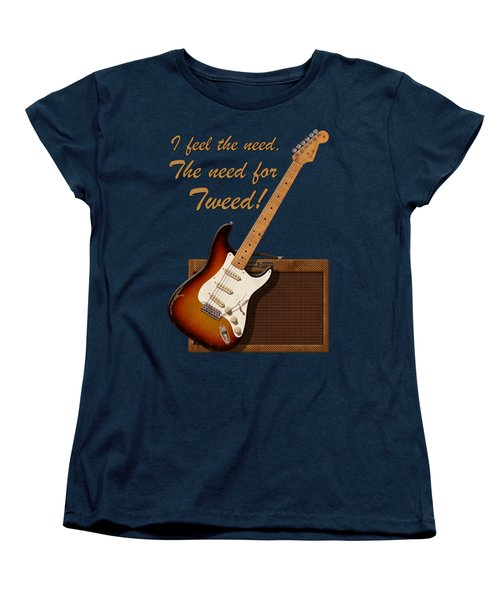 Need For Tweed T Shirt Women's T-Shirt (Standard Cut) by WB Johnston