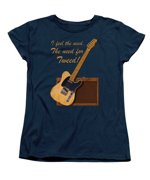 Need For Tweed Tele T Shirt Women's T-Shirt (Standard Cut) by WB Johnston