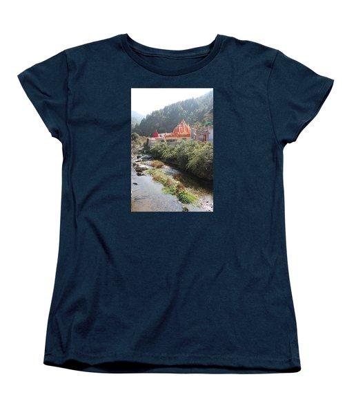 Neem Karoli Baba Ashram, Kainchi Women's T-Shirt (Standard Cut) by Jennifer Mazzucco