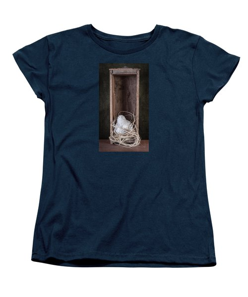 Nesting Bird Still Life Women's T-Shirt (Standard Cut) by Tom Mc Nemar