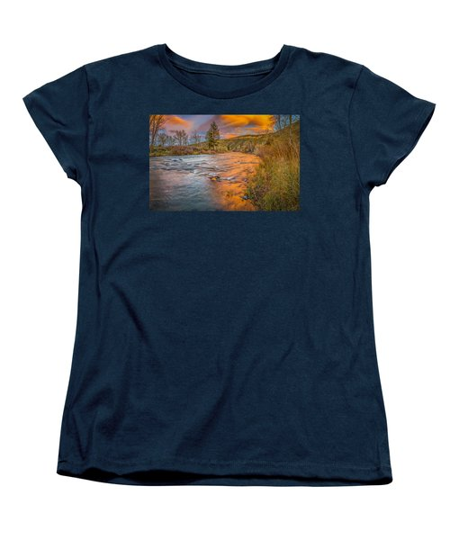 Women's T-Shirt (Standard Cut) featuring the photograph Nevada Gold  by Scott McGuire