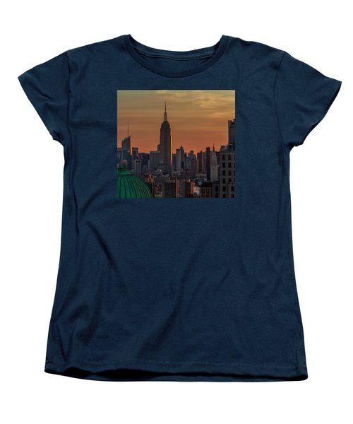 Never Give Up On Your Dreams  Women's T-Shirt (Standard Cut) by Anthony Fields