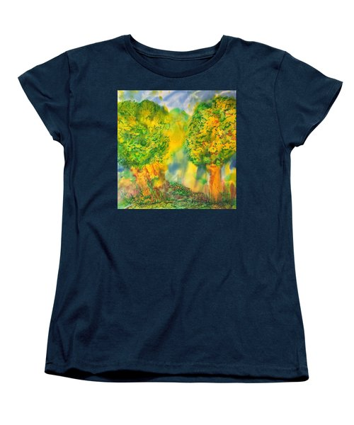 Never Give Up On Your Dreams Women's T-Shirt (Standard Cut) by Susan D Moody