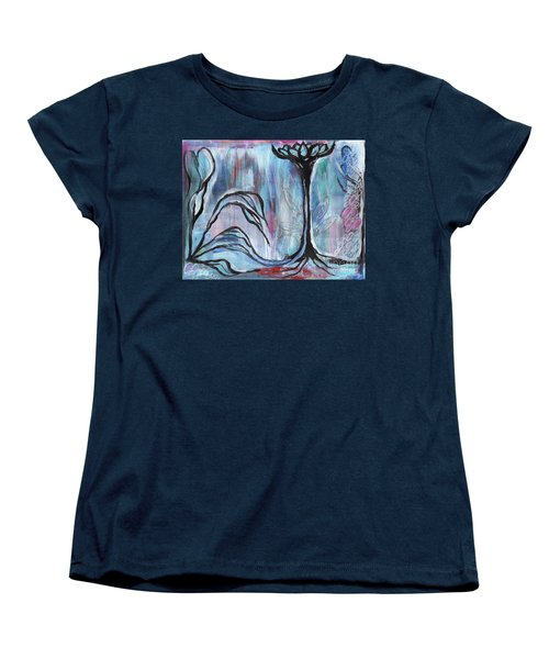 New Beginnings Women's T-Shirt (Standard Cut) by Angela Armano